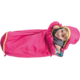 Grüezi-Bag Grow Colorful Śpiwór Dzieci, rose